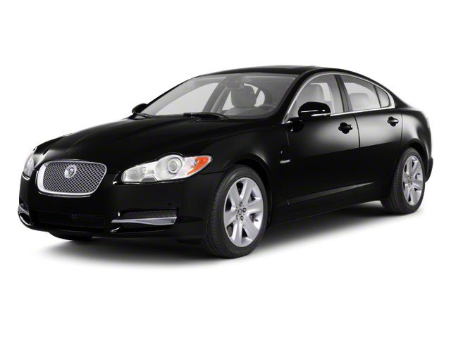 Ultimate Black 2010 Jaguar XF Pictures XF Sedan 4D Supercharged photos front view