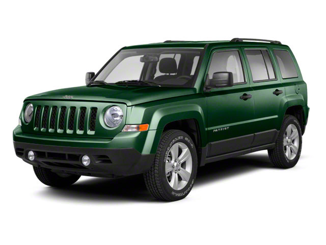 Natural Green Pearl 2010 Jeep Patriot Pictures Patriot Utility 4D Sport 2WD photos front view