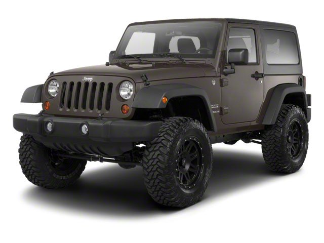 Dark Charcoal Pearl 2010 Jeep Wrangler Pictures Wrangler Utility 2D Sport 4WD photos front view