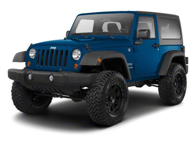 Deep Water Blue Pearl 2010 Jeep Wrangler Pictures Wrangler Utility 2D Sport 4WD photos front view