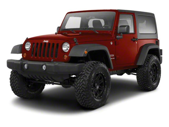 Red Rock Crystal Pearl 2010 Jeep Wrangler Pictures Wrangler Utility 2D Sport 4WD photos front view