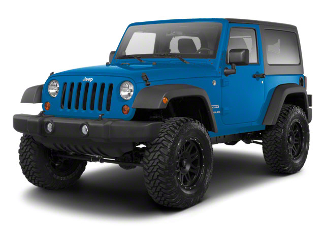 Surf Blue Pearl 2010 Jeep Wrangler Pictures Wrangler Utility 2D Sport 4WD photos front view