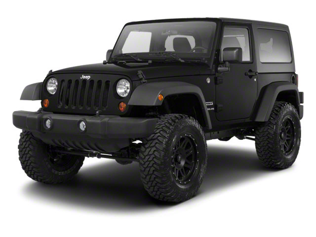 Black 2010 Jeep Wrangler Pictures Wrangler Utility 2D Sport 4WD photos front view