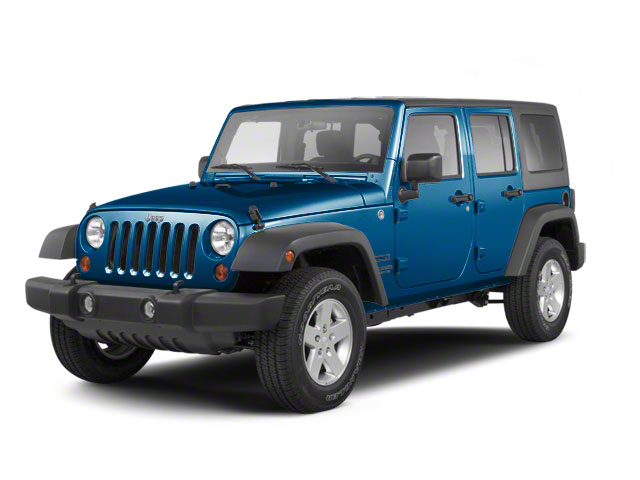 Deep Water Blue Pearl 2010 Jeep Wrangler Unlimited Pictures Wrangler Unlimited Utility 4D Unlimited Sport 4WD photos front view