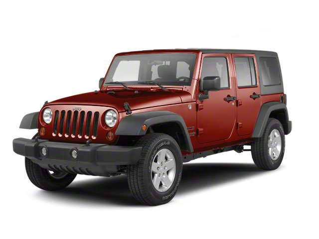 Red Rock Crystal Pearl 2010 Jeep Wrangler Unlimited Pictures Wrangler Unlimited Utility 4D Unlimited Sport 4WD photos front view