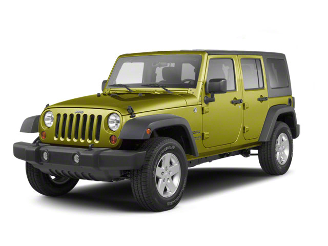 Rescue Green Metallic 2010 Jeep Wrangler Unlimited Pictures Wrangler Unlimited Utility 4D Unlimited Sport 4WD photos front view