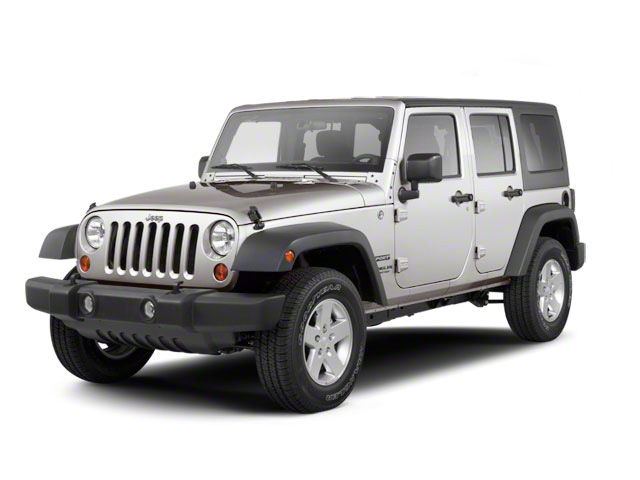 Bright Silver Metallic 2010 Jeep Wrangler Unlimited Pictures Wrangler Unlimited Utility 4D Unlimited Sport 4WD photos front view