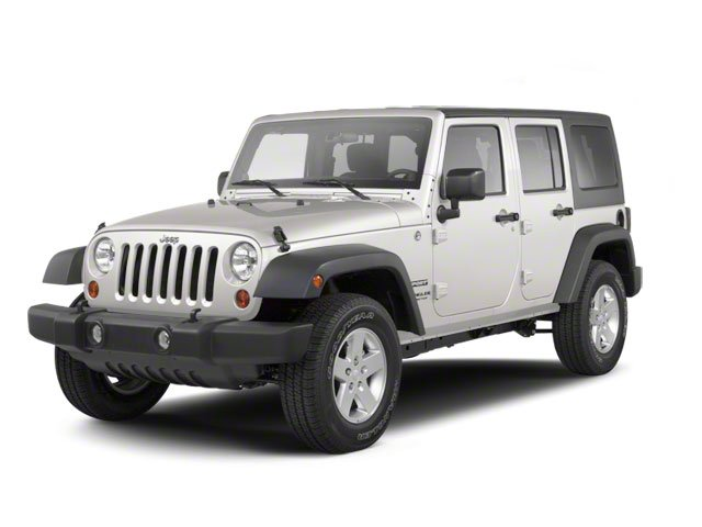 Stone White 2010 Jeep Wrangler Unlimited Pictures Wrangler Unlimited Utility 4D Unlimited Sport 4WD photos front view