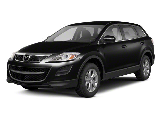 Brilliant Black 2010 Mazda CX-9 Pictures CX-9 Utility 4D Touring AWD photos front view