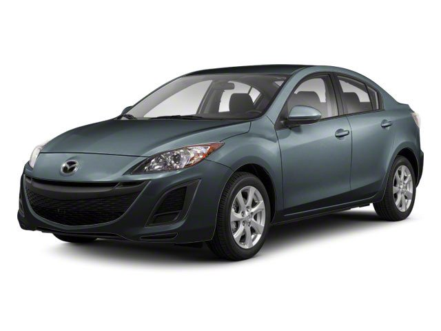 Gunmetal Blue Mica 2010 Mazda Mazda3 Pictures Mazda3 Sedan 4D s photos front view