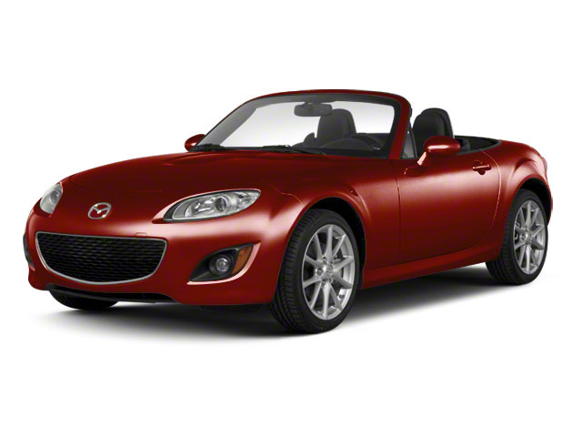Copper Red Mica 2010 Mazda MX-5 Miata Pictures MX-5 Miata Convertible 2D GT photos front view