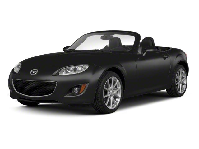 Brilliant Black Clearcoat 2010 Mazda MX-5 Miata Pictures MX-5 Miata Convertible 2D GT photos front view