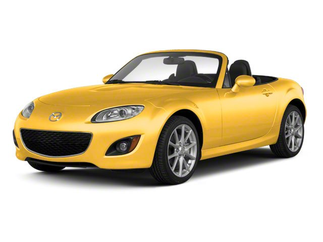 Competition Yellow 2010 Mazda MX-5 Miata Pictures MX-5 Miata Convertible 2D GT photos front view