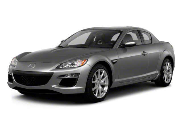 Liquid Silver Metallic 2010 Mazda RX-8 Pictures RX-8 Coupe 2D (6 Spd) photos front view