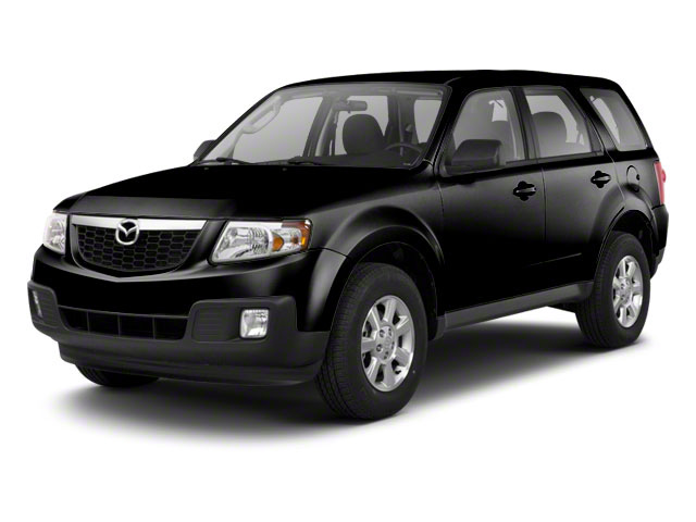 Mystic Black 2010 Mazda Tribute Pictures Tribute Utility 4D s 4WD photos front view