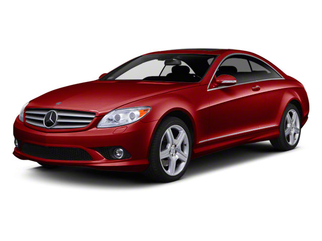 Barolo Red Metallic 2010 Mercedes-Benz CL-Class Pictures CL-Class Coupe 2D CL550 AWD photos front view