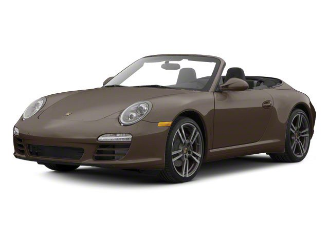 Macadamia Metallic 2010 Porsche 911 Pictures 911 Cabriolet 2D Turbo AWD photos front view