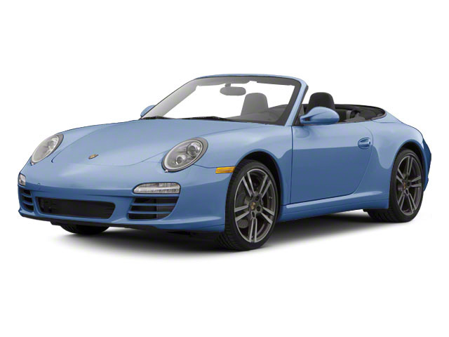 Aqua Blue Metallic 2010 Porsche 911 Pictures 911 Cabriolet 2D 4 AWD photos front view