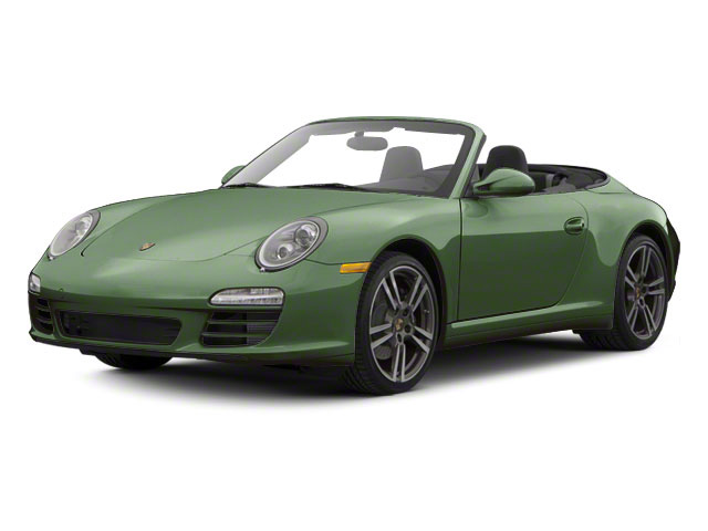 Porsche Racing Green Metallic 2010 Porsche 911 Pictures 911 Cabriolet 2D 4 AWD photos front view