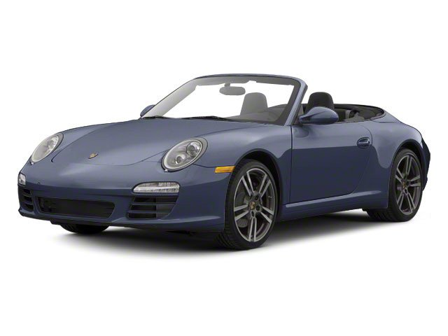 Dark Blue Metallic 2010 Porsche 911 Pictures 911 Cabriolet 2D Turbo AWD photos front view