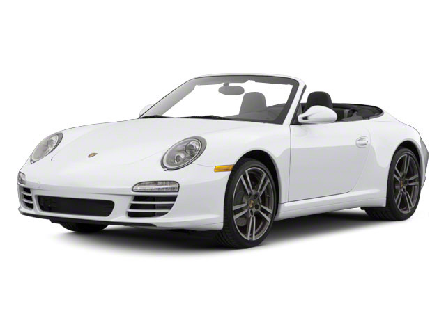 Arctic Silver Metallic 2010 Porsche 911 Pictures 911 Cabriolet 2D Turbo AWD photos front view