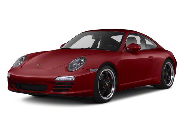 Ruby Red Metallic 2010 Porsche 911 Pictures 911 Coupe 2D 4S AWD photos front view
