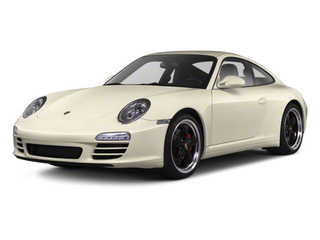 Cream White 2010 Porsche 911 Pictures 911 Coupe 2D 4S AWD photos front view