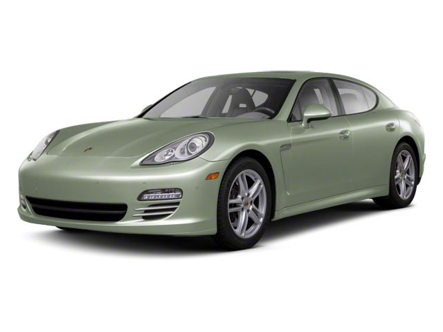 Crystal Green Metallic 2010 Porsche Panamera Pictures Panamera Hatchback 4D S photos front view
