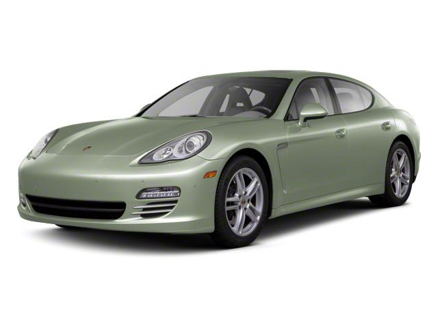 Crystal Green Metallic 2010 Porsche Panamera Pictures Panamera Hatchback 4D Turbo AWD photos front view