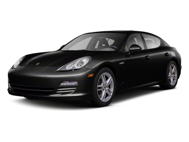 Black 2010 Porsche Panamera Pictures Panamera Hatchback 4D Turbo AWD photos front view