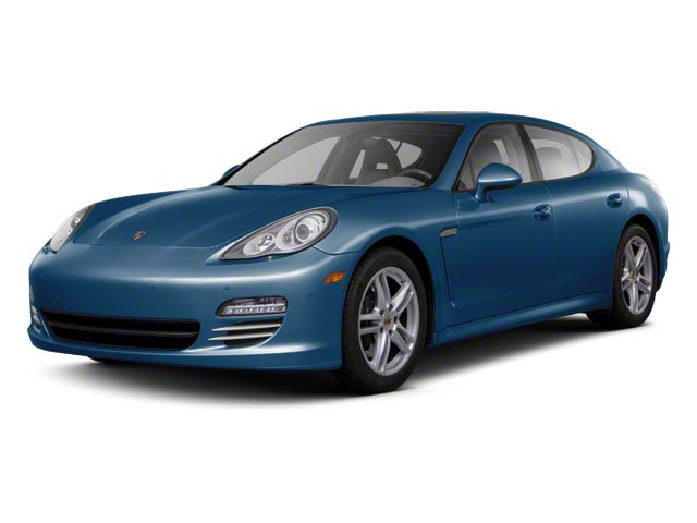 Aqua Blue Metallic 2010 Porsche Panamera Pictures Panamera Hatchback 4D S photos front view