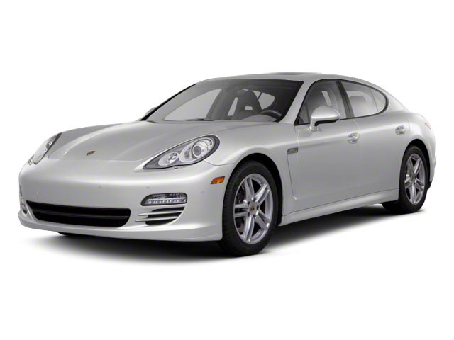 GT Silver Metallic 2010 Porsche Panamera Pictures Panamera Hatchback 4D Turbo AWD photos front view