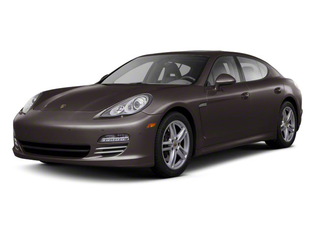 Mahogany Metallic 2010 Porsche Panamera Pictures Panamera Hatchback 4D Turbo AWD photos front view