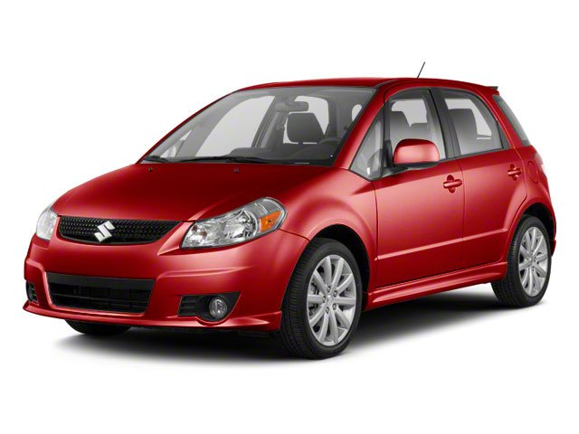Vivid Red 2010 Suzuki SX4 Pictures SX4 Hatchback 5D Sport photos front view