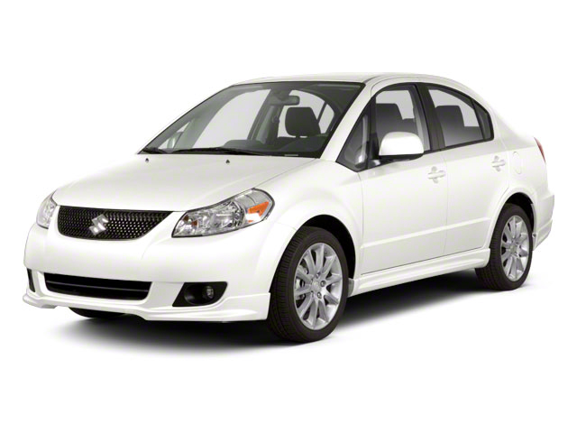 White Water Metallic 2010 Suzuki SX4 Pictures SX4 Sedan 4D photos front view