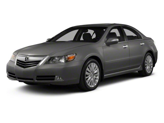 Forged Silver Metallic 2011 Acura RL Pictures RL Sedan 4D AWD photos front view