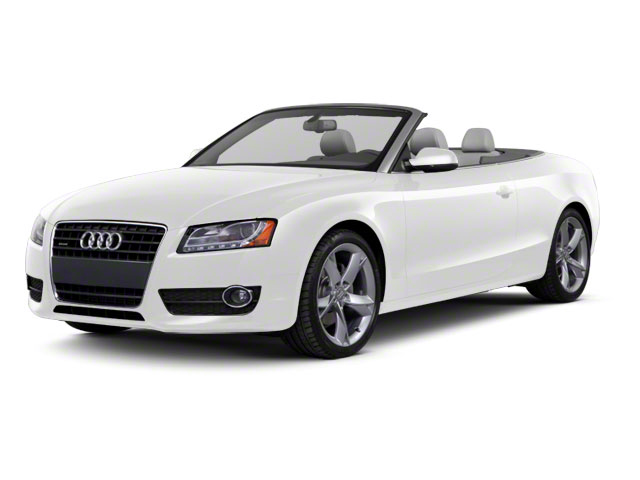 Ibis White 2011 Audi A5 Pictures A5 Convertible 2D Quattro Prestige photos front view