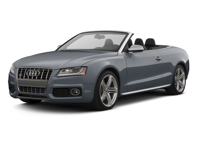 Meteor Gray Pearl 2011 Audi S5 Pictures S5 Convertible 2D Quattro photos front view