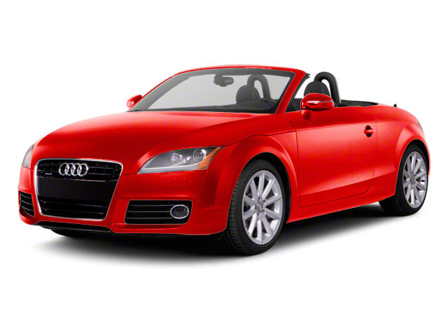 Volcano Red Metallic 2011 Audi TT Pictures TT Roadster 2D Quattro Prestige photos front view