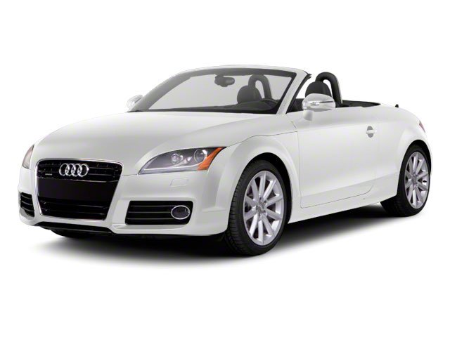 Ibis White 2011 Audi TT Pictures TT Roadster 2D Quattro Prestige photos front view