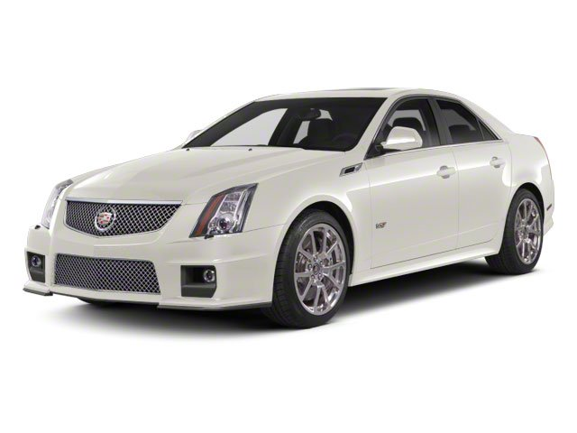 White Diamond Tricoat 2011 Cadillac CTS-V Sedan Pictures CTS-V Sedan 4D V-Series photos front view