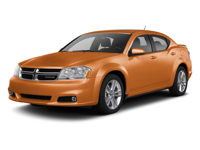 Mango Tango Pearl 2011 Dodge Avenger Pictures Avenger Sedan 4D Mainstreet photos front view