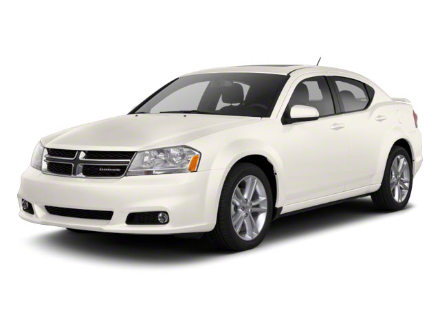 Stone White 2011 Dodge Avenger Pictures Avenger Sedan 4D Mainstreet photos front view