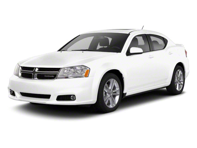 Bright White 2011 Dodge Avenger Pictures Avenger Sedan 4D Mainstreet photos front view