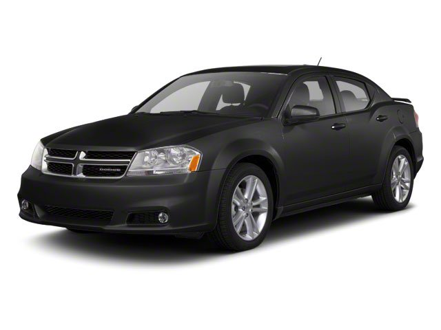 Black 2011 Dodge Avenger Pictures Avenger Sedan 4D Mainstreet photos front view