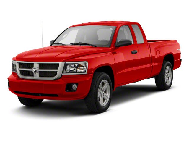 Flame Red 2011 Ram Truck Dakota Pictures Dakota Extended Cab Bighorn/Lone Star photos front view