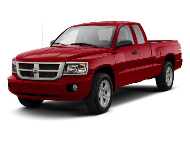 Deep Cherry Red Crystal Pearl 2011 Ram Truck Dakota Pictures Dakota Extended Cab Bighorn/Lone Star photos front view