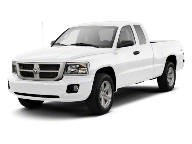 Bright White 2011 Ram Truck Dakota Pictures Dakota Extended Cab Bighorn/Lone Star photos front view