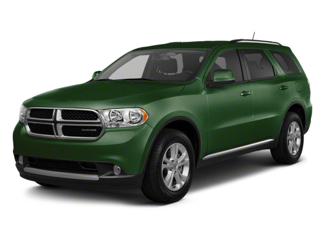 Natural Green Pearl 2011 Dodge Durango Pictures Durango Utility 4D Crew 2WD photos front view