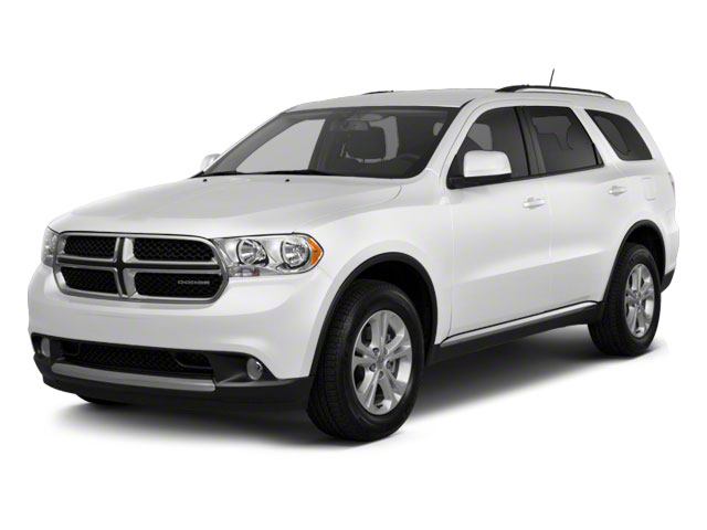 Stone White 2011 Dodge Durango Pictures Durango Utility 4D R/T AWD photos front view